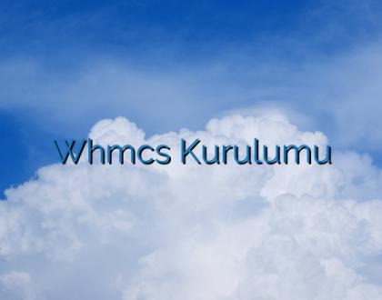 Whmcs Kurulumu